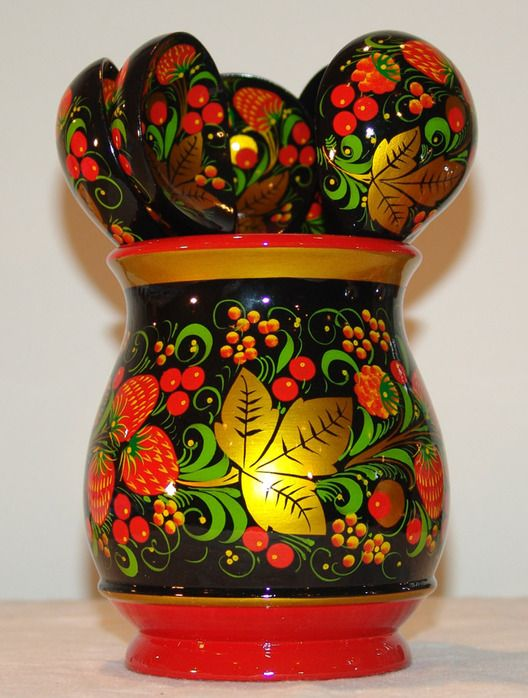 HOHLOMA-russian art