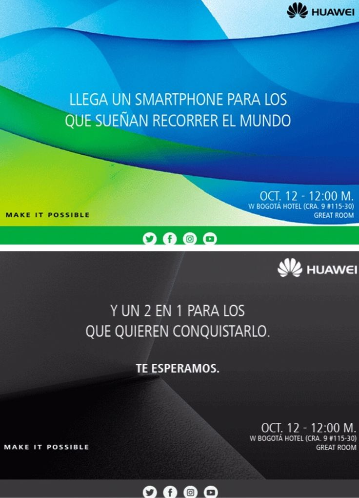 Lanzamiento Huawei Matebook The New Style Of Business & Huawei Nova Plus Desafiando Expectativas @HuaweiMobileCo Make iT POSSIBLE @enter.co