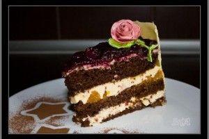 Tort cu fructe si crema mascarpone - Culinar.ro