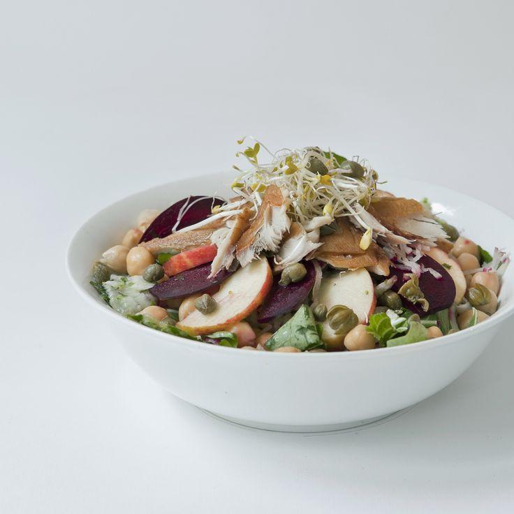 mackerel salad // by Wij Zijn Kees // www.ilovesla.com