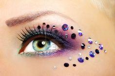 Glitter oog