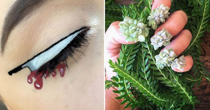 Worst Beauty Trends 2016 - See the 12 worst beauty trends of 2016, including knifeliner, unregulated sheet masks, furry nails, and more.