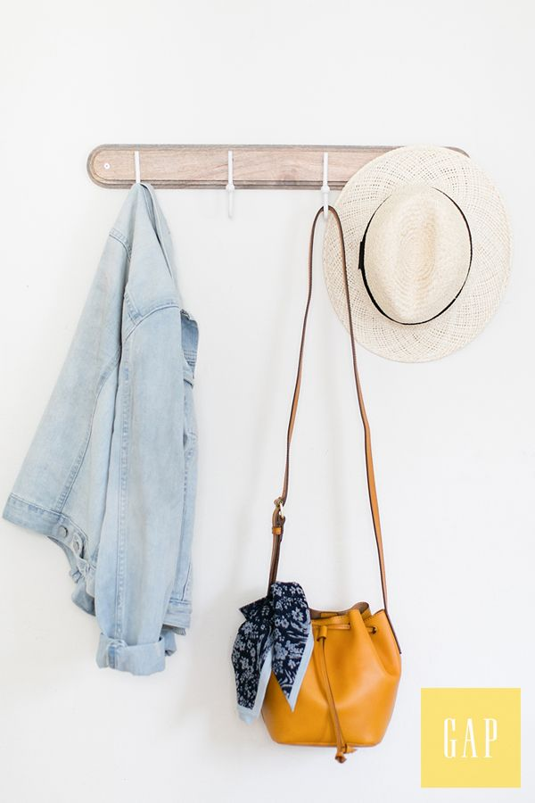 It's all about the basics. Throw on a denim jacket and leather bucket bag with your favorite breezy dress for a day around town. Shop all new essentials from Gap.