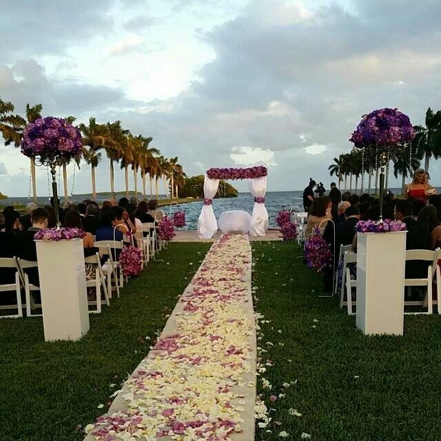 VENUE Deering Estate Ceremony Space Wed Decorate It Differently But