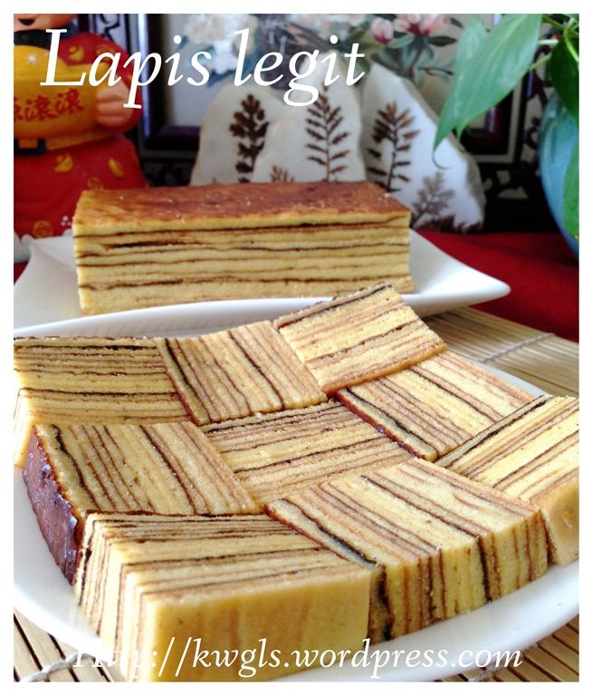 Lapis Legit (印尼千层蛋糕)Indonesian Thousand Layer Cake #guaishushu #kenneth_goh #kuih_lapis_legit #印尼千层蛋糕