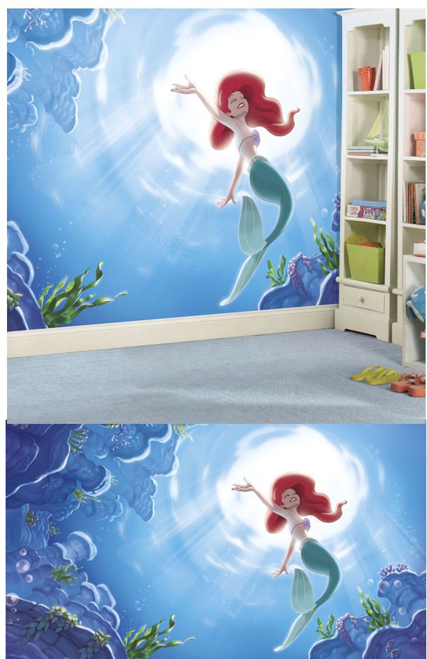 Disney Little Mermaid Part of Your World XL Mural - Wall Sticker Outlet
