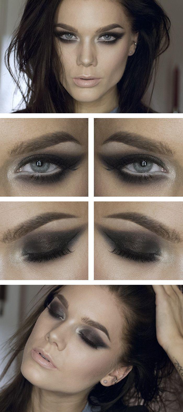 Sun.Dec.22/13, LINDA HALLBERG : TODAYS LOOK - A CHILD OF THE WILD JUST LIKE YOU.  I've used ... EYES: NYS HD Eyeshadow base, Anastasia Lavish palette, MUS Wonder powder Sinai, MUS Eyepencil Snowflake, MUS Cake eyeliner black, MUS Lash art Miss, NYX Doll eyes mascara Waterproof.  LIPS: MAC Lipstick Creme d'nude.  CHEEKS: Anastasia Contour kit, NARS cheekpalette soulshine, MUS Wonder powder Sinai
