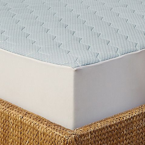 Enjoy a cooler sleep temperature while keeping your mattress protected with the Arctic Sleep Cooling Gel Memory Foam Mattress Pad. The top features a cooling gel-infused memory foam layer to help diffuse heat as you rest in soft memory foam comfort.
