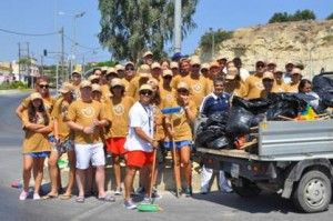 Creta Maris Green Team εν δράσει
