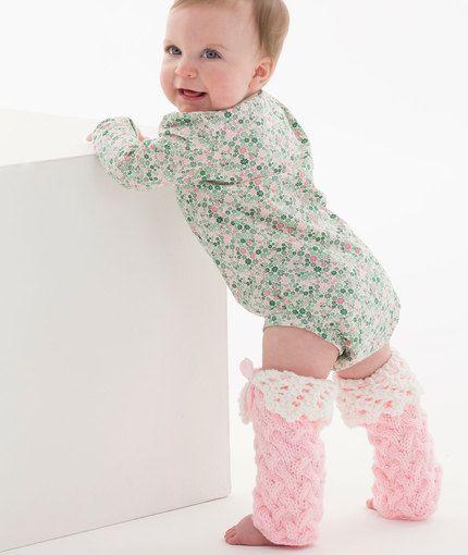 Lacy Baby Legwarmers Free Knitting Pattern LW5204