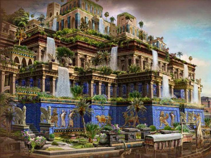 Geografía e Historia: IES Vega del Táder: Los Jardines Colgantes de Babilonia. Una de las siete maravillas del Mundo.