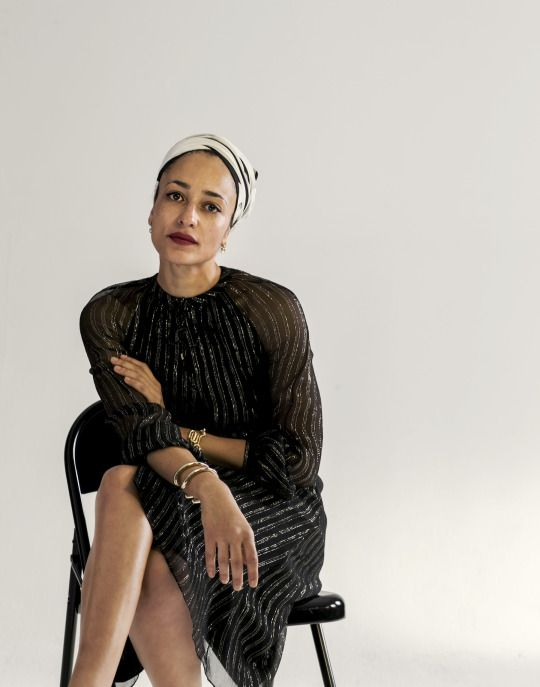 Author Zadie Smith is one of five muses at the forefront of Altuzarra's latest capsule collecti