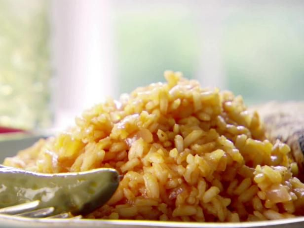 Get Marcela Valladolid's Mexican Red Rice (Arroz Rojo) Recipe from Food Network