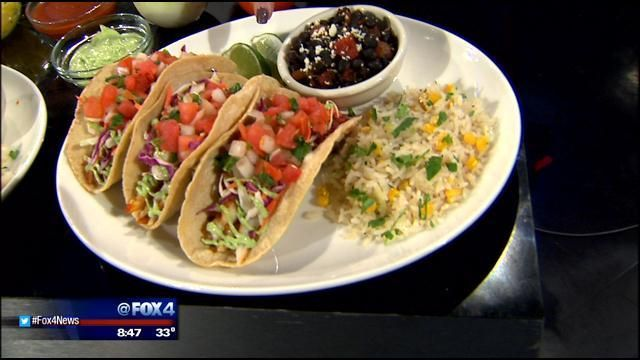 Uncle Julio's shares the recipe for two new tacos with homemade sauces on Fox 4 News DFW