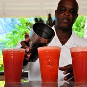 bahama mama rum cocktail-  but would like to drink this in the bahamas
