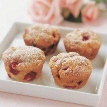 Raspberry & White Chocolate Muffins