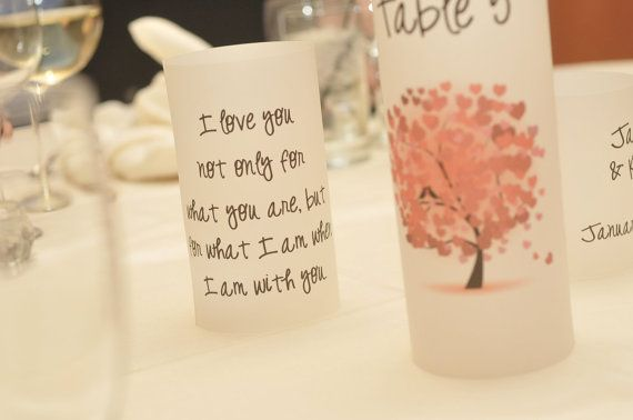 Wedding Signs  Luminaries  Quotes  Unique by thepaperynook on Etsy, $3.00