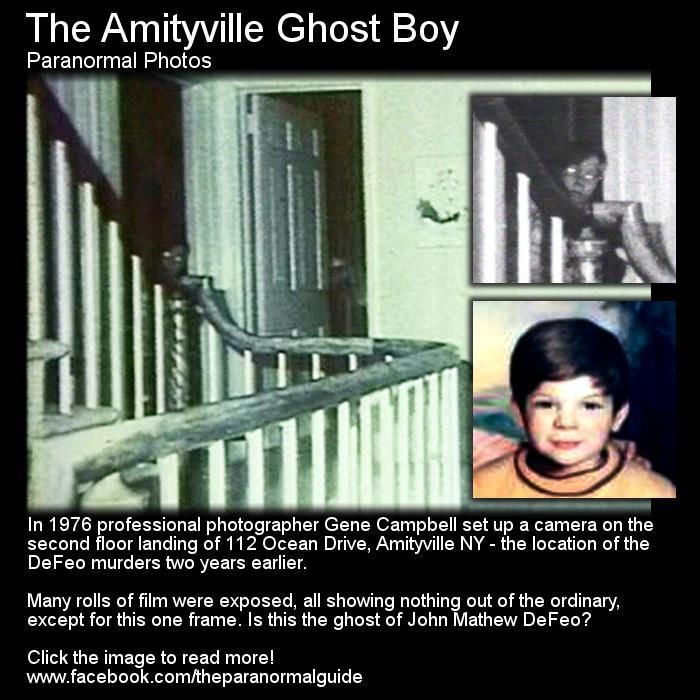 This picture was taken 2 years after the Amityville Murders - Don't know if it's real but still a cool picture!