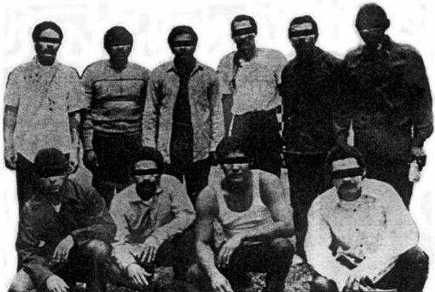 Mexican Mafia (La eMe) West coast prison gang…identifiable ...