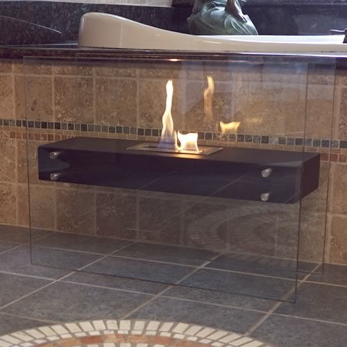 Found it at Wayfair - La Strada Freestanding Bio Ethanol Fuel Fireplace