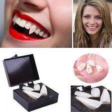 Vampire Costume Fangs Props Teeth Denture