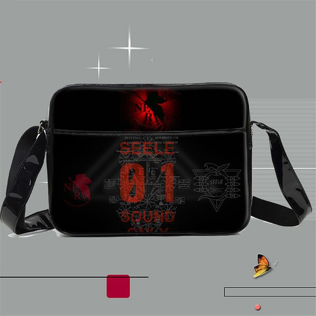 Fair price Anime Neon Genesis Evangelion EVA Cartoon Shoulder Bag Boys Girls Teenagers Students School Messenger Bags just only $23.57 with free shipping worldwide  #crossbodybagsformen Plese click on picture to see our special price for you