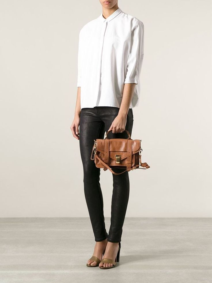 Proenza Schouler PS1 Satchel | Brown, Saddles and Minis