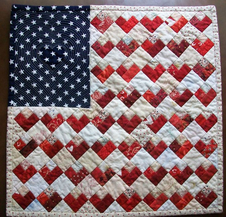 206 Best Red White And Blue Quilts Images On Pinterest