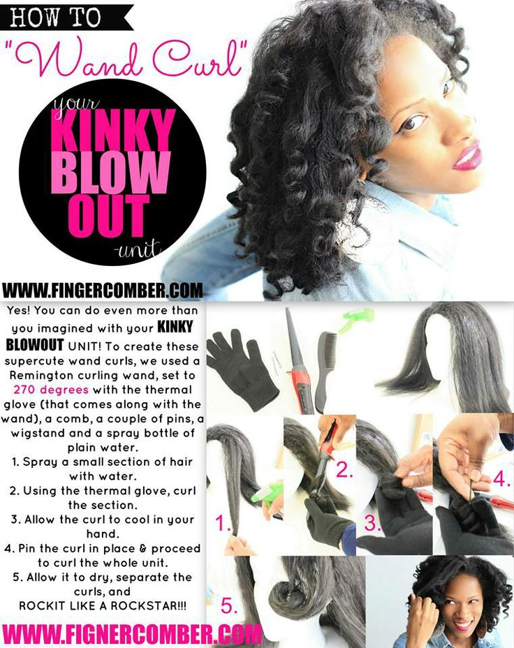 15 best KINKY BLOWOUT UNIT from Fingercomber images on Pinterest ...