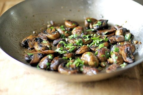 Sauteed Mushrooms (from AZ Cookbook)