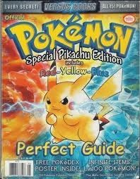 Pokemon Red Yellow Blue - Game Boy Strategy Guide