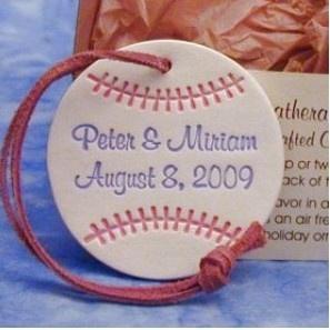 Centerpiece ideas and favors... New York Yankees baseball theme wedding :  wedding Yankees Favor
