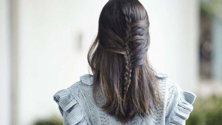 Meia trança sereia: veja o passo a passo para fazer esse penteado
