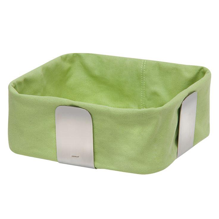 Stofftasche für Brotkorb Desa - Grün,  groß