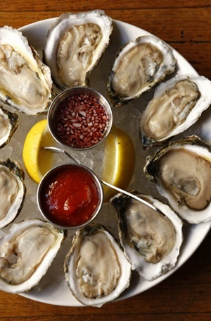 Cape May Salts, a delicious, local and sustainable shellfish at Philadelphia's Oyster House