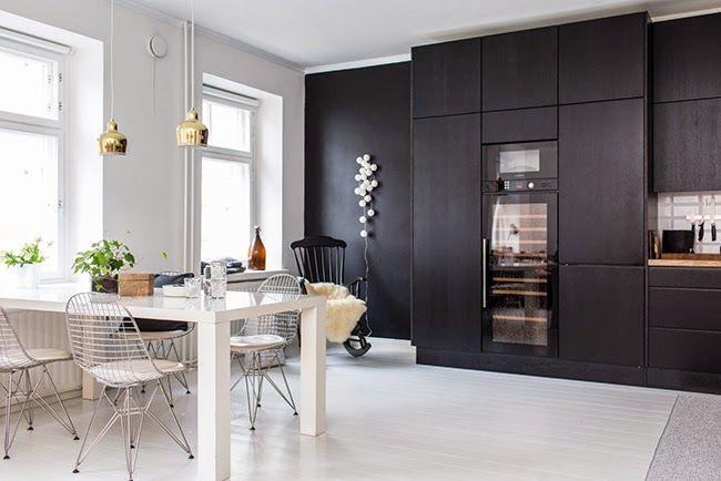 Mustavalkoinen maailma #keittiö #netrautalikes