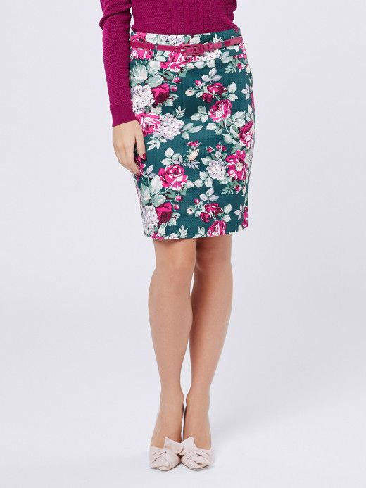 Review - Devine Floral Skirt