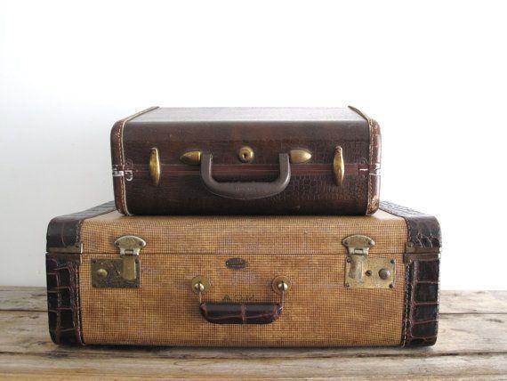 209 best Old Luggage images on Pinterest | Vintage luggage, Travel ...