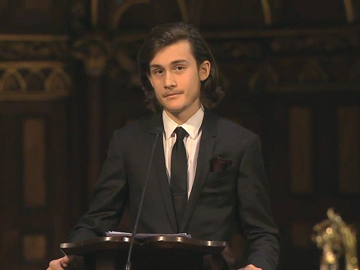 VIDEO: Watch René-Charles Angélil Give Heart-wrenching Eulogy at Dad's Funeral: I'll Share 'Memories of You' with My Younger Brothers http://www.people.com/article/rene-angelil-funeral-son-rene-charles-eulogy