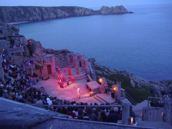 The Minack Theatre. Cornwall's world famous open-air theatre. minack.com: Minack Theatre, Music Theatre, Photo, Open Air Theatre