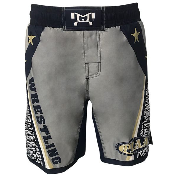 As the Official Wrestling Apparel Sponsors of the PIAA, MyHOUSE Sports Gear is proud to give you our 2018 PIAA Grey Wrestling Micro Stretch Shorts. MyHOUSE is the leading seller of custom #wrestling gear in the USA.