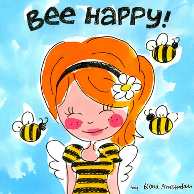 Bee Happy - Made with love by Blond-Amsterdam