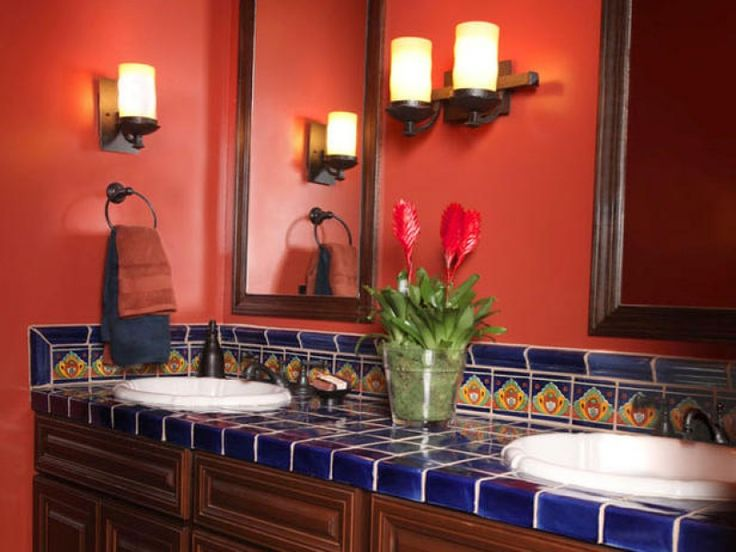 160 best images about spanish revival style on pinterest for Spanish colonial bathroom design