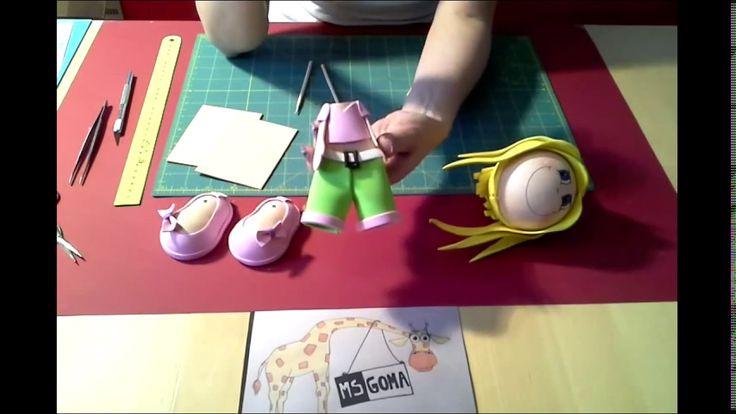 V tomto videu uvidíte jak celou panenku dát dokupy a vdechnout ji život. Sadu na výrobu této panenky i jiných najdete na našem webu www.msgom.cz