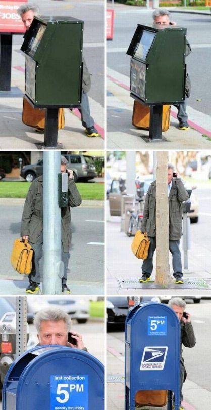 Dustin Hoffman, Stealth Master