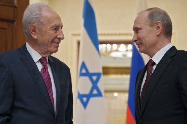 """Мои новости: Послание Путину от Шимона Переса : """"Америка выиграет, независимо от того, что вы делаете""""."""
