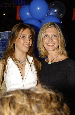 Chloe Lattenzi & her Mom Olivia Newton-John