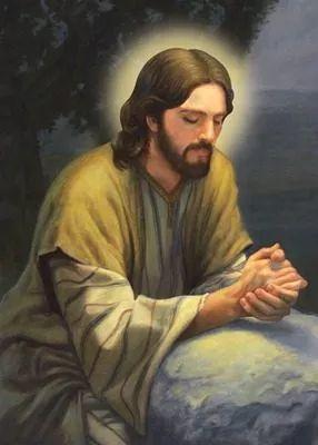 quadro decorativo em tela 50x70 cm - jesus cristo iluminado