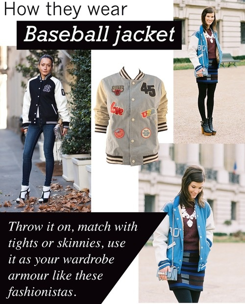 How To Wear Baseball Jacket - Pl Jackets