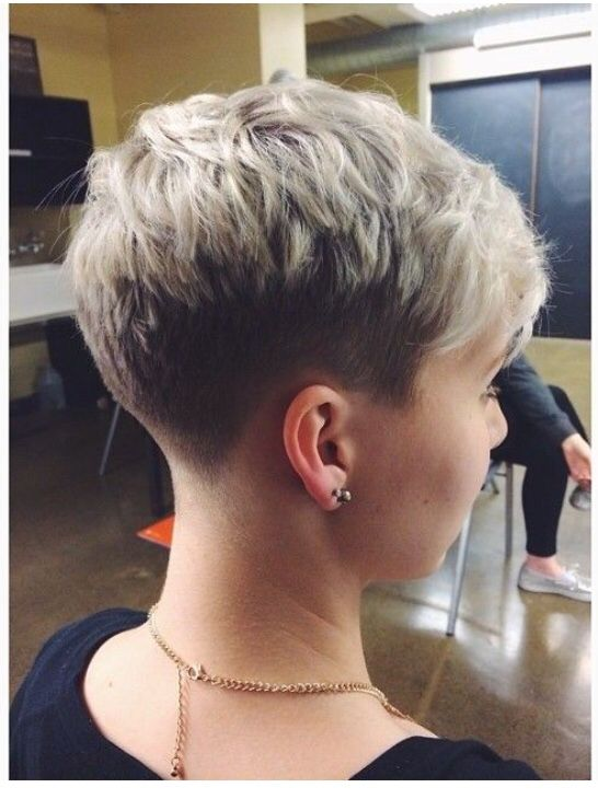 Short Stacked Haircuts For Over 50 Pictures   Short